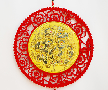 New Year Hanging Ornament—Golden Blessing for the Elderly